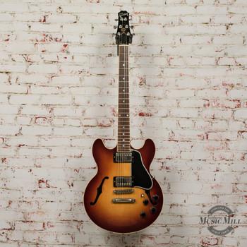 1997 Gibson Custom Shop ES-336 Semi-Hollow Electric Guitar Vintage Sunburst x9554 (USED)