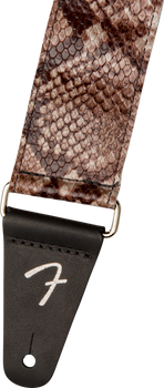 Fender Wild Faux Snakeskin Leather Strap, 2""