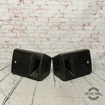 Pair of Electro-Voice SX80 Passive Speakers w/Pole Mounts x2568 (USED)