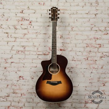 Taylor 214ce SB Deluxe Left-Handed Acoustic-Electric Guitar x0212