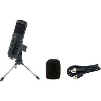 CAD U49 USB Studio Microphone with Headphone Jack & Gain Control
