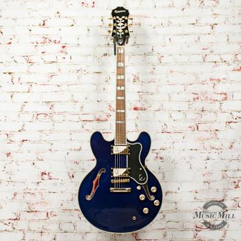 Epiphone Sheraton-II Pro Hollowbody Electric Guitar Midnight Sapphire x6661