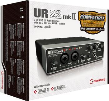 Steinberg UR22MKII 2-Channel USB Interface