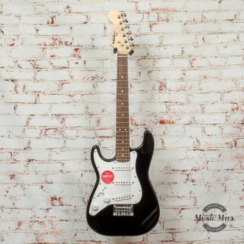 Squier Mini Stratocaster Left-Handed Electric Guitar Black x6857