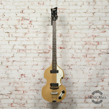 Hofner B-Bass Icon Series Gold x8369 (USED)