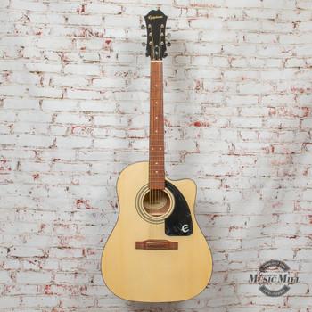 Epiphone AJ-100CE Acoustic/Electric Guitar Natural x6139