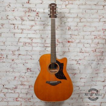 Yamaha A1M Dreadnaught Acoustic Guitar Mahogany Vintage Natural x0695