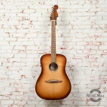 Fender Redondo Classic Acoustic/Electric Guitar Aged Cognac Burst x2033