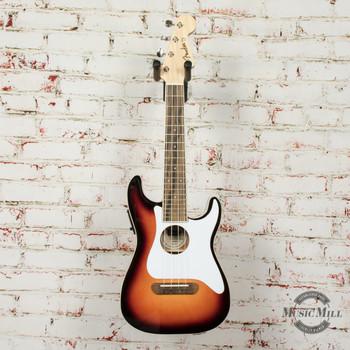 Fender Fullerton Strat Uke Sunburst (DEMO) x0222