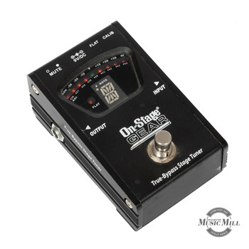 On Stage True Bypass Tuner Pedal (USED) x8451