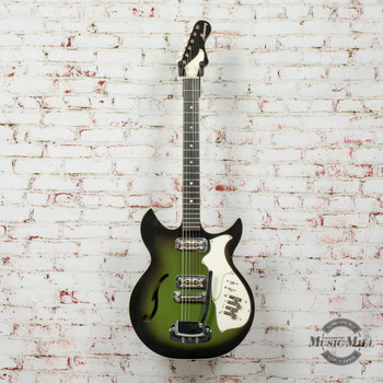 Vintage Harmony H82 Rebel Electric Guitar w/Chip Case x7904 (USED)
