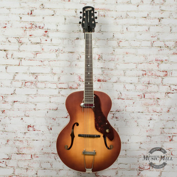 Gretsch G9555 New Yorker Archtop Electric Guitar Antique Burst  (USED) x4974