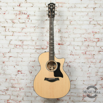 2019 Taylor E14CE Limited Edition V-Class Acoustic/Electric Grand Auditorium Guitar Natural x9160 (USED)