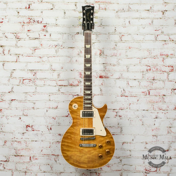 1997 Gibson 57RI R7 Electric Guitar Quilted Top Lemonburst w/OHSC (USED)