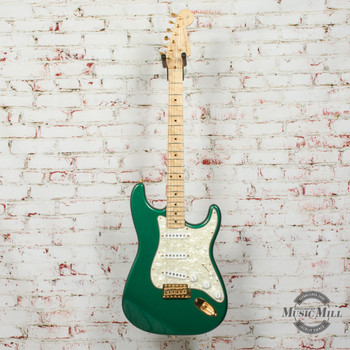 1993 Fender Custom Shop Limited Edition 1962 Stratocaster Electric Guitar Green #11 of 12 (USED)