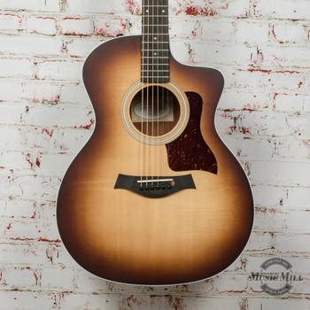 Taylor 214ce-K SB Acoustic-Electric Guitar - Shaded Edgeburst x0285