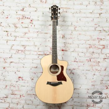 Taylor 214ce Plus Acoustic/Electric Guitar Natural x0235