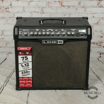 Line 6 Spider IV 75 Guitar Combo Amp (USED) x1755