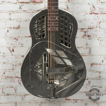Recording King RM-991 Tricone Resonator Guitar Roundneck x8495