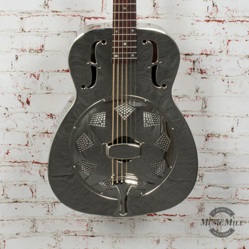 Recording King Metal Body Resonator Style-0 Round Hole x8498