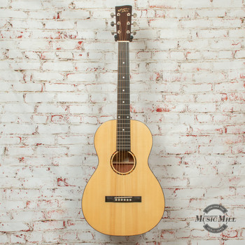 Recording King G6 Series Solid Top Single 0 Acoustic Guitar Natural x8502