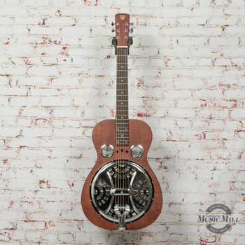 Dobro Hound Dog Square Neck Acoustic/Electric (USED) x9976