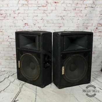 Yamaha SM15IV Passive PA Speaker Pair (USED) x1294