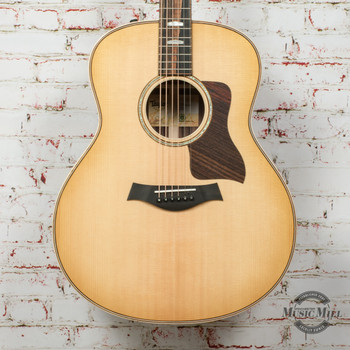Taylor 818e V-Class Acoustic/Electric Guitar Natural x1207230102