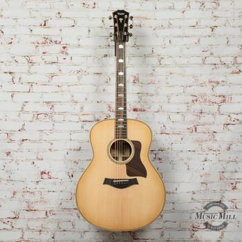 Taylor 818e V-Class Acoustic/Electric Guitar Natural x1207230102