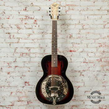 Recording Rattlesnake Small Body Resonator Vintage Sunburst x8504