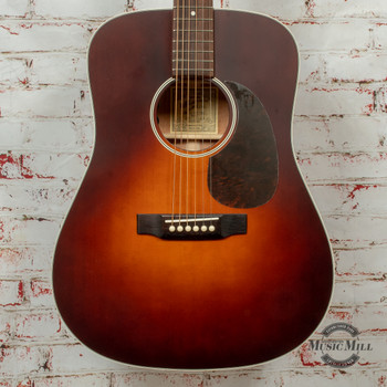 Recording King Series 11 Dreadnought Acoustic/Electric Guitar Tobacco Sunburst Satin x8488