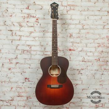 Recording King Series 11 14th Fret 000 Acoustic/Electric Guitar Satin Transaprent Brownburst x8490