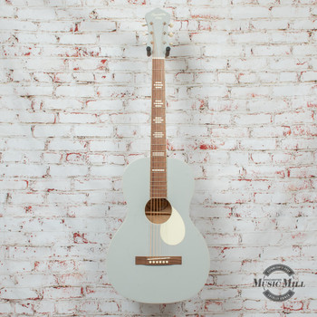 Recording King Dirty 30s Series 7 Single 0 Acoustic Guitar Satin Grey x8481