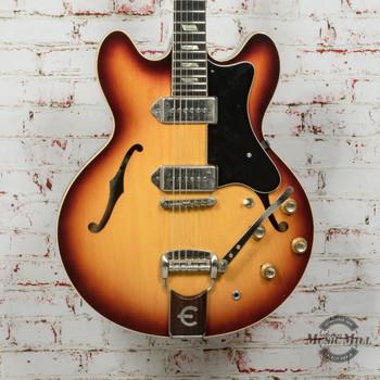 Vintage 1966 Epiphone Casino Hollowbody Electric Guitar Sunburst P-90's (USED) x4128
