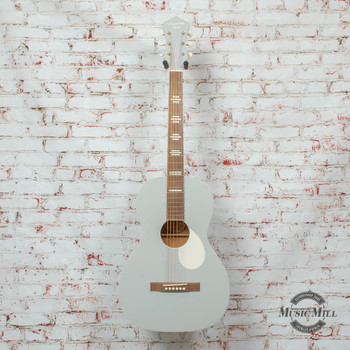 Recording King Dirty 30s Series 7 Size 0 Acoustic Guitar Satin Grey x8478