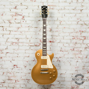 Gibson Les Paul Standard '50s P-90 Electric Guitar Gold Top x0034