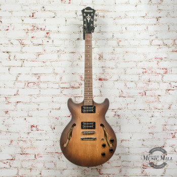 Ibanez AM73BTF Hollowbody Electric Guitar Satin Tobacco Burst x0437