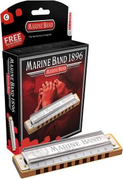 Hohner Marine Band 1896 Key Of A Harmonica