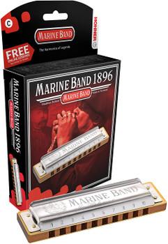 Hohner Marine Band 1896 Harmonica Key of C