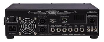 Mesa Boogie Subway WD-800 Lightweight Walkabout Bass Hybrid Amplifier Head