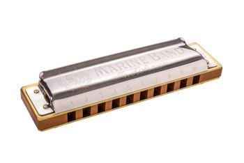 Hohner Marine Band 1896 Harmonica Key of Eb
