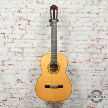 Yamaha CG122MSH Classical Acoustic Guitar Spruce Top Natural x0277