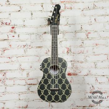 Fender Billie Eilish Uke, Walnut Fingerboard, Black x0818