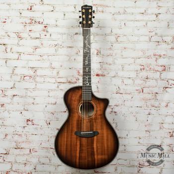 Breedlove Jeff Bridges Oregon Concerto CE Acoustic-Electric Guitar x5823