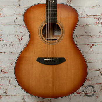 Breedlove Jeff Bridges Signature Concert Copper E Torrefied European-African Mahogany Acoustic/Electric Guitar x1319