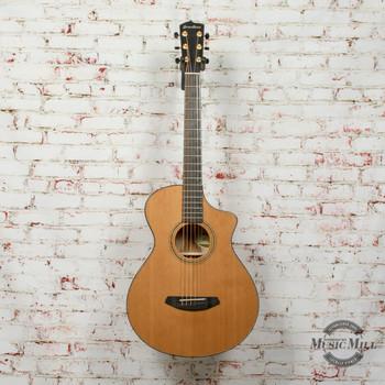 Breedlove Limited Edition Oregon Concertina CE Acoustic Electric Guitar Red cedar-Myrtlewood Natural x5835