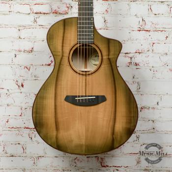 Breedlove LTD Oregon Concert Acoustic Electric Guitar Sweetgrass Burst CE Myrtlewood-Myrtlewood x5608