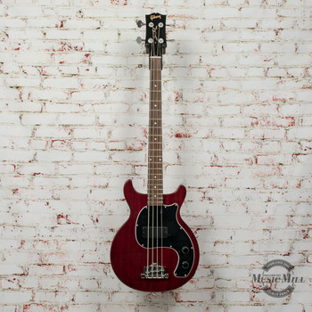 Gibson Les Paul Junior Tribute DC Bass Worn Cherry x0091