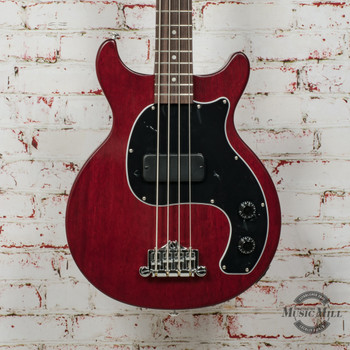 Gibson Les Paul Junior Tribute DC Bass Worn Cherry x0012