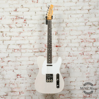 Fender Jimmy Page Mirror Telecaster® Electric Guitar, Rosewood Fingerboard, White Blonde x2094